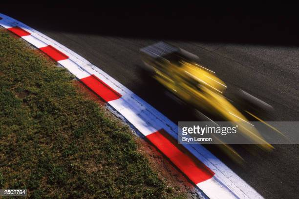 A general view of the action during the FIA Formula One Italian Grand Prix on September 14 2003 at the Autodromo Nazionale Monza in Monza Italy
