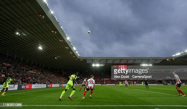 A general view of the action in the opening seconds during the Sky Bet League One match between Sunderland and Bolton Wanderers at Stadium of Light...