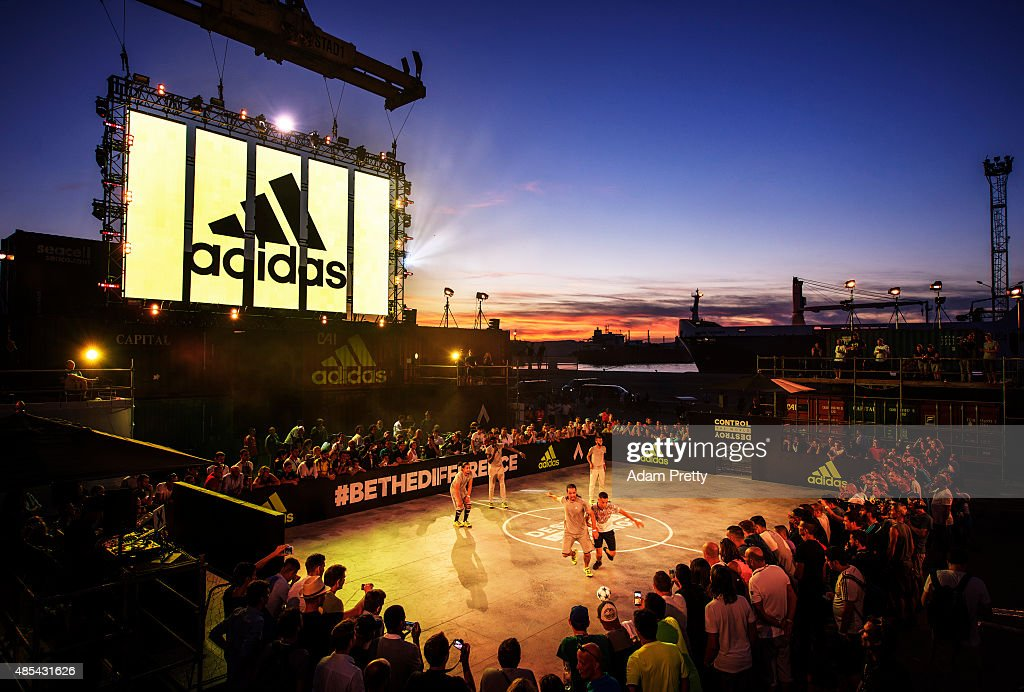 A general view of the adidas #BETHEDIFFERENCE World Final on August 27, 2015 in Marseille, France.