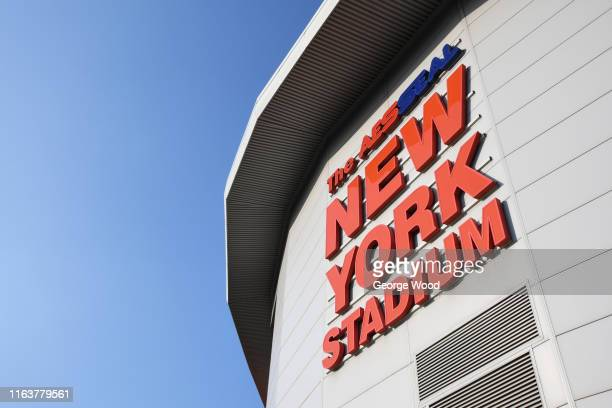A general view of the AESSEAL New York Stadium prior to the PreSeason Friendly between Rotherham United and West Bromwich Albion at AESSEAL New York...