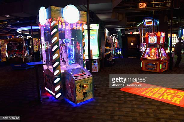 """General view of the after party for The World Premiere of Disney's """"Alexander and the Terrible, Horrible, No Good, Very Bad Day"""" at Dave & Busters on..."""
