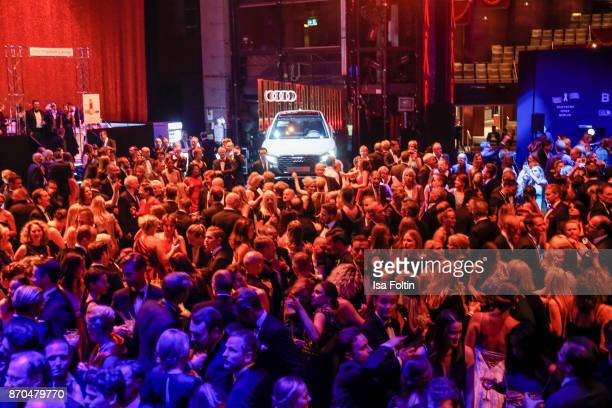 A general view of the aftershow party during during the 24th Opera Gala at Deutsche Oper Berlin on November 4 2017 in Berlin Germany