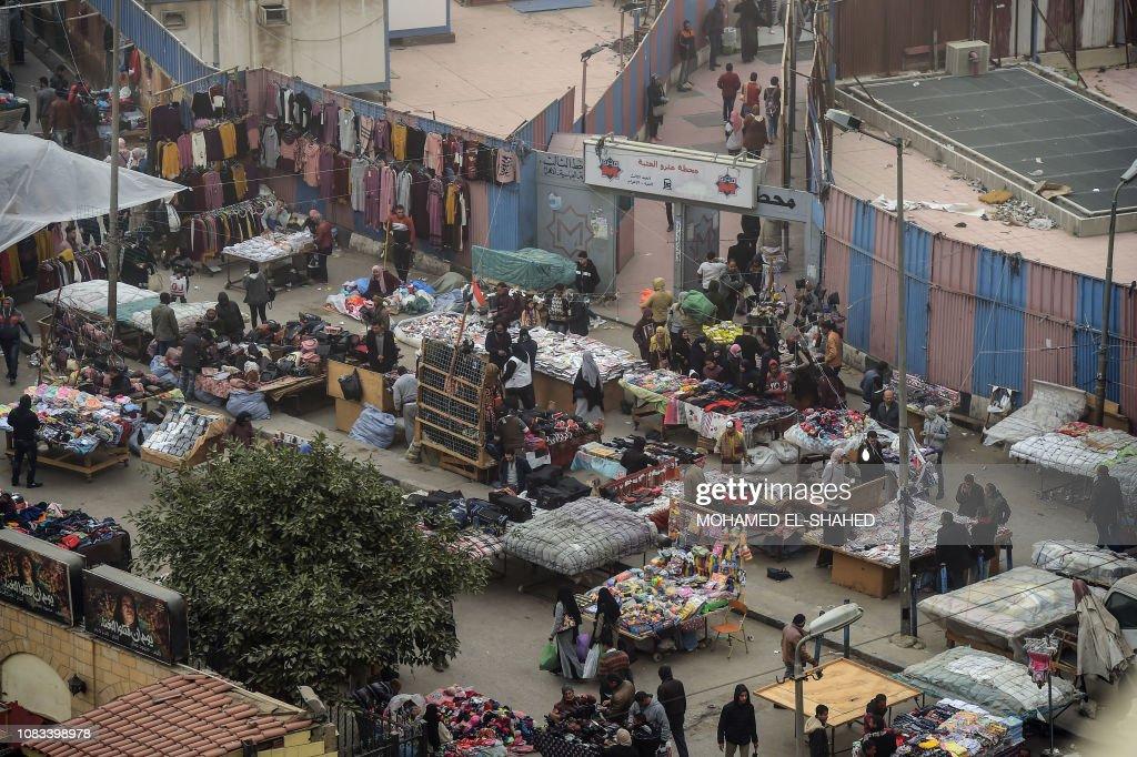 EGYPT-ECONOMY-MARKET : News Photo
