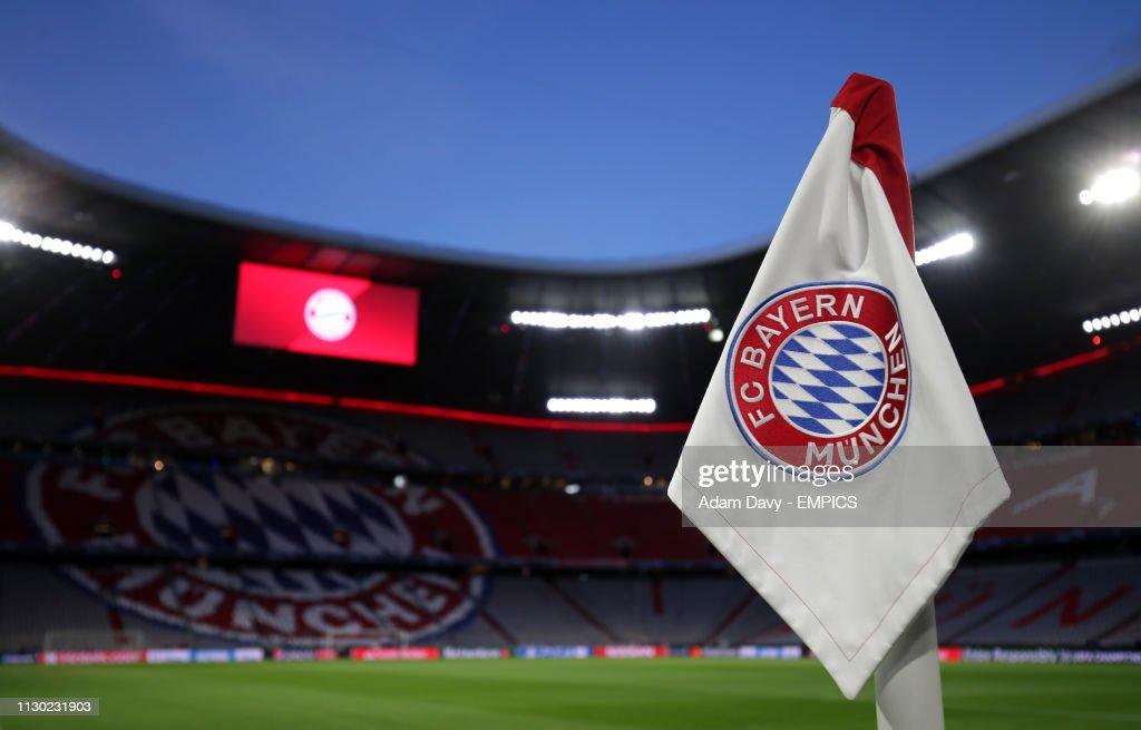 Bayern Munich v Liverpool - UEFA Champions League - Round of 16 - Second Leg - Allianz Arena : News Photo