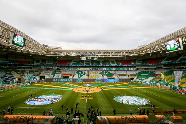 BRA: 2020 Copa do Brasil Final: Palmeiras v Gremio Play Behind Closed Doors Amidst the Coronavirus (COVID - 19) Pandemic