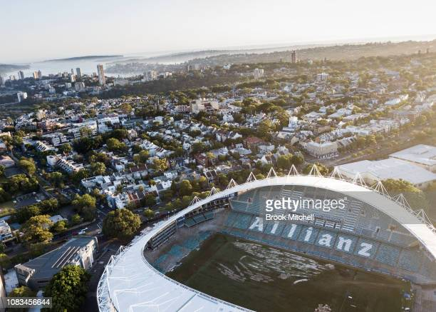 General view of the Allianz Stadium on 17 December, 2018 in Sydney, Australia. The NSW Department of Planning has approved the first stage of...
