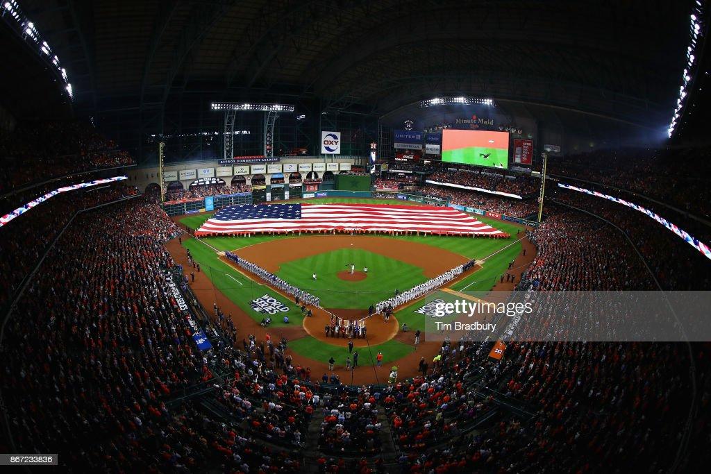 World Series - Los Angeles Dodgers v Houston Astros - Game Three : News Photo