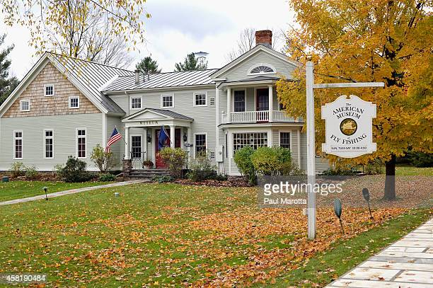 A general view of the American Museum of Fly Fishing on October 31 2014 in Manchester Vermont