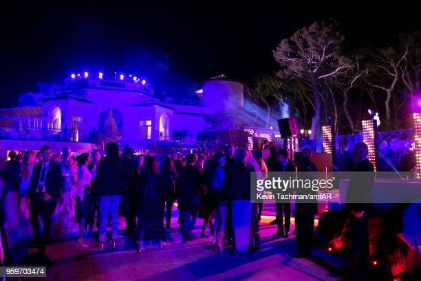 General view of the amfAR Gala Cannes 2018 after party at Hotel du CapEdenRoc on May 17 2018 in Cap d'Antibes France