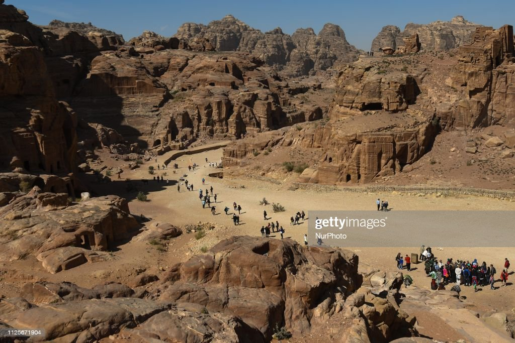 JOR: Petra, One Of The New 7 Wonders Of The World