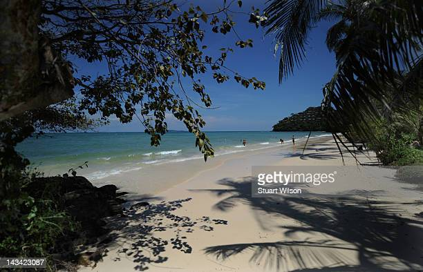 General view of the Andaman Sea from Cape Panwa Phuket on April 23 2012 in UNSPECIFIED Thailand