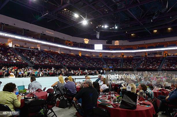 A general view of The Animal Foundation's 11th annual 'Best in Show' a benefit for the animal shelter at Orleans Arena on April 27 2014 in Las Vegas...