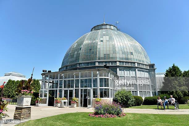 A general view of the Anna Sripps Whitcomb Conservatory on Belle Isle on August 13 2014 in Detroit Michigan