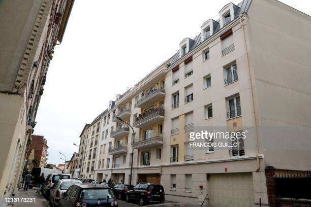 General view of the apartment building where Rwanda genocide suspect Felicien Kabuga who has been known as the financier of the genocide was arrested...
