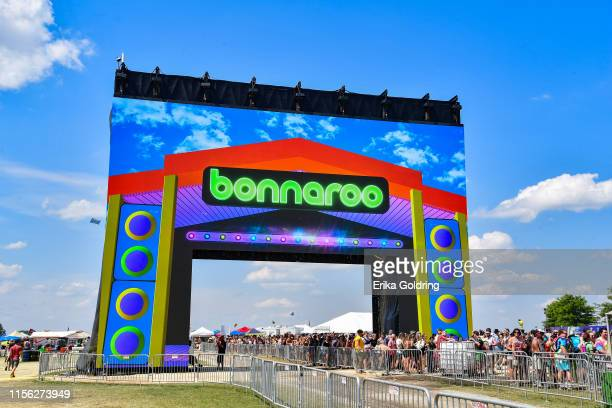 General view of the arch during 2019 Bonnaroo Music & Arts Festival on June 15, 2019 in Manchester, Tennessee.