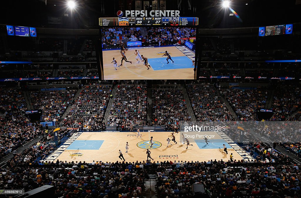 A General View Of The Arena As The New Orleans Pelicans Face