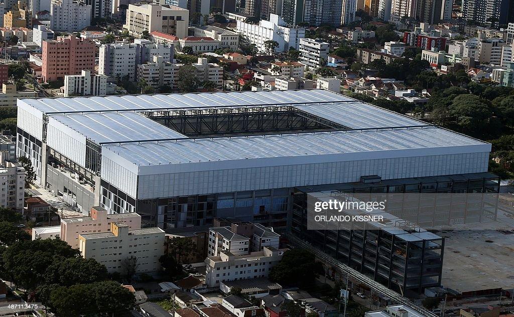 FBL-WC-2014-BRAZIL-STADIUM-ARENA DA BAIXADA : News Photo