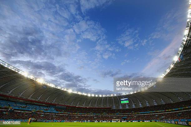 A general view of the arena during the 2014 FIFA World Cup Brazil Group E match between France and Honduras at Estadio BeiraRio on June 15 2014 in...
