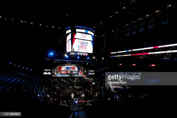General view of the arena during the 2019 NBA Draft on June 20, 2019 at the Barclays Center in Brooklyn, New York. NOTE TO USER: User expressly...