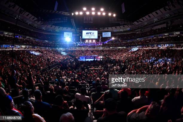 A general view of the arena during the UFC 238 event at the United Center on June 8 2019 in Chicago Illinois