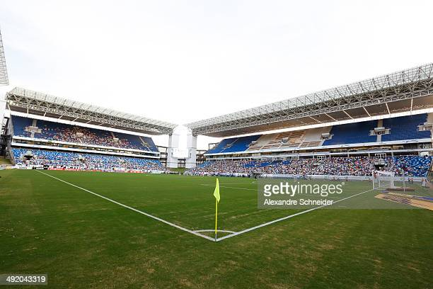 CUIABA BRAZIL MAY 18 General view of the Arena Pantanal Stadium before the match between Santos and Atletico MG for the Brazilian Series A 2014 at...