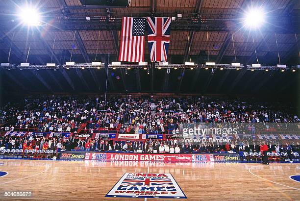 A general view of the arena prior to the Atlanta Hawks versus the Orlando Magic game on October 31 1993 in London England NOTE TO USER User expressly...