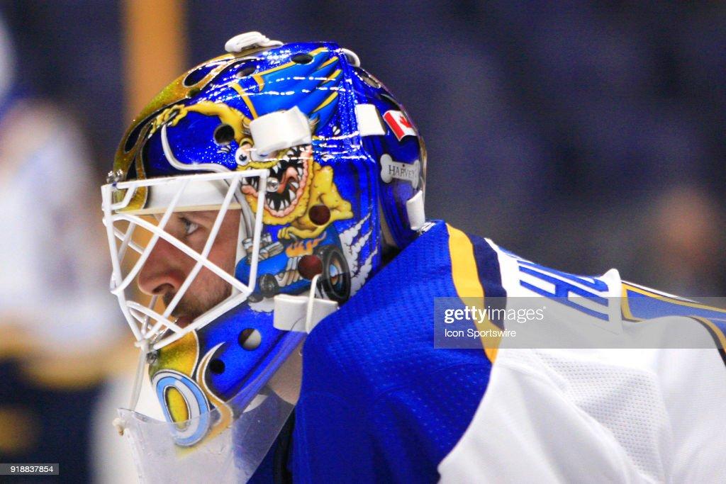 NHL: FEB 13 Blues at Predators : News Photo