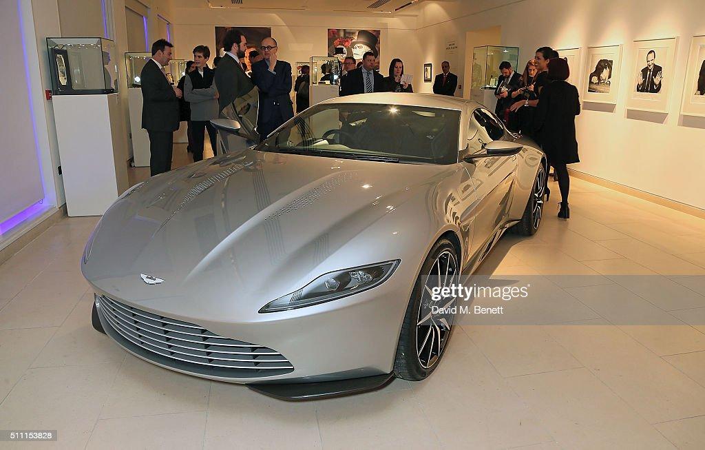 'James Bond Spectre: The Auction' At Christie's : News Photo