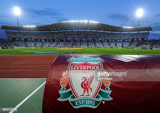 General view of the Ataturk Olympic Stadium before the UEFA Europa League Round of 32 match between Besiktas JK and Liverpool FC on February 26, 2015...