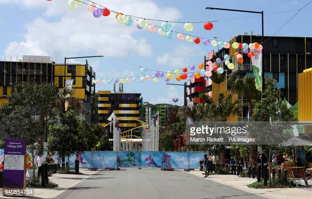 General view of The Athletes Village for the 2018 Commonwealth Games, Gold Coast, Australia.