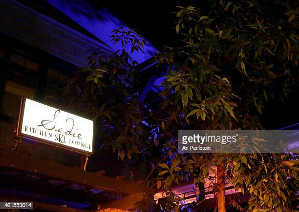 A general view of the atmopshere at the Los Angeles Premiere Of CAKE After Party at Sadie on January 14 2015 in Hollywood California