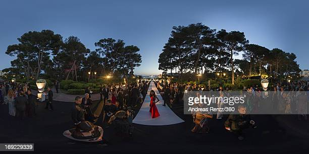 General view of the atmopshere during the 'De Grisogono' Party during The 66th Annual Cannes Film Festival at Hotel Du Cap Eden Roc on May 21 2013 in...