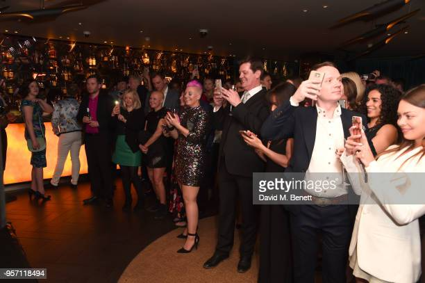 General view of the atmosphere as Cooper Hefner hosts VIP party at Playboy Club London to celebrate PlayboyÍs nomination at the British LGBT+ Awards...