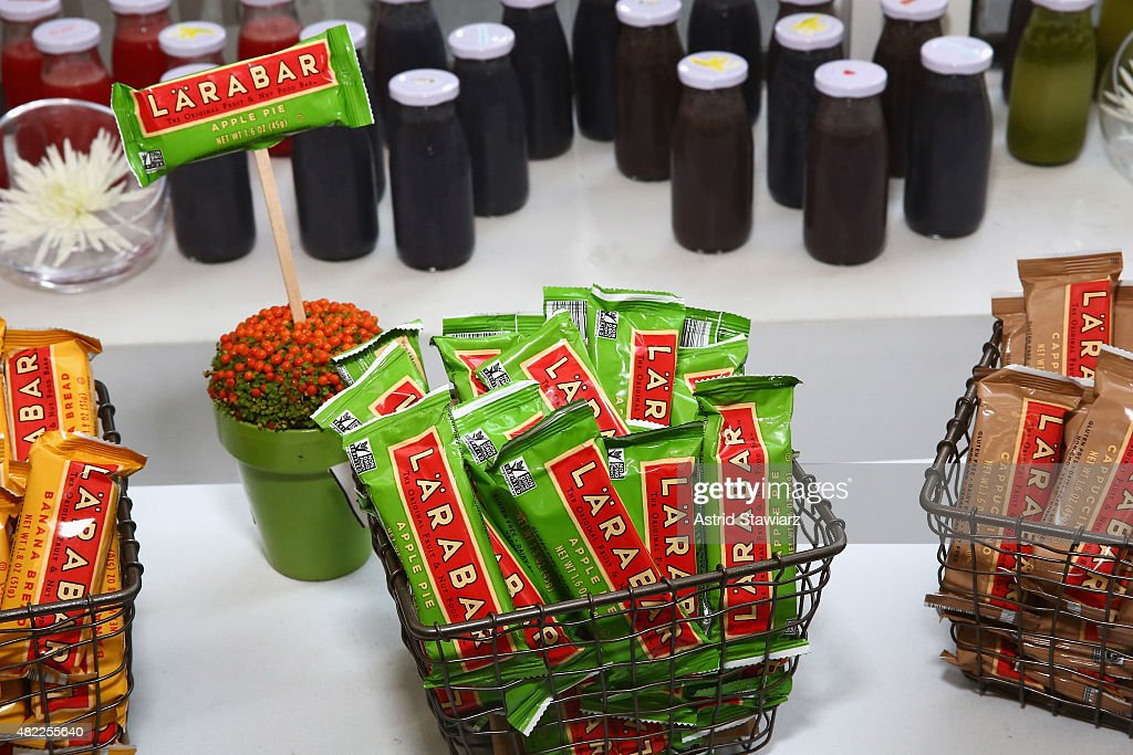 A general view of the atmosphere as Fitness and nutrition enthusiast Lo Bosworth teams up with LÄRABAR Original Fruit & Nut Bars to fuel runners at Mile High Run Club in New York on Wednesday, July 29, 2015.