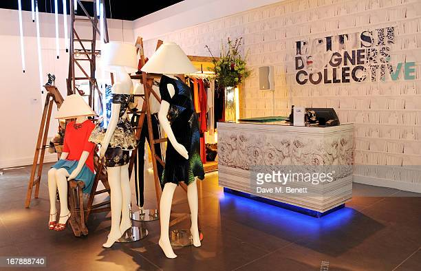 A general view of the atmosphere as Rita Ora launches the British Designers' Collection at Bicester Village on May 2 2013 in Bicester England
