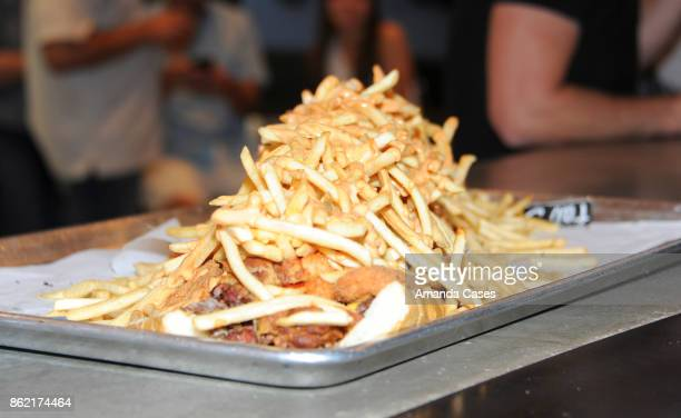 A general view of the atmosphere as seen at Fat Sal's Encino Grand Opening Party on October 15 2017 in Encino California