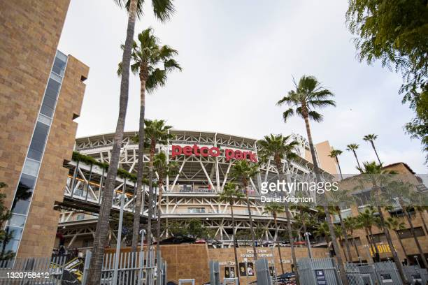 General view of the atmosphere as The Beach Boys perform at PETCO Park on May 29, 2021 in San Diego, California.