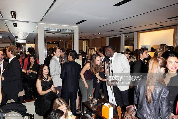 A general view of the atmosphere as TOD's and Annabel's with Diego BiveroVolpe cohost an evening to celebrate Vogue Fashion's Night Out at the Tod's...