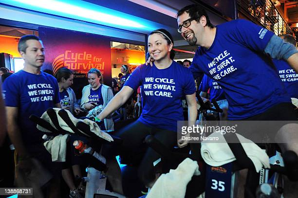 A general view of the atmosphere at 2012 Cycle For Survival Day 2 at Equinox Graybar on February 12 2012 in New York City