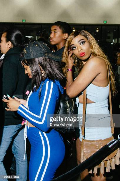 A general view of the atmosphere at '2018 BET Experience Fanfest Day 2' at Los Angeles Convention Center on June 23 2018 in Los Angeles California
