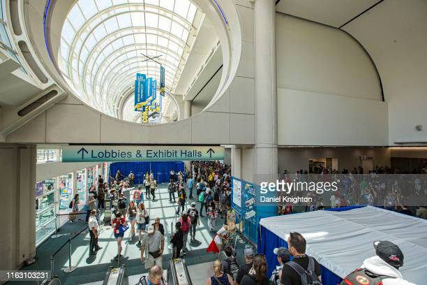 General view of the atmosphere at 2019 Comic-Con International on July 19, 2019 in San Diego, California.