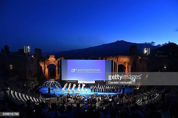A general view of the atmosphere at 62 Taormina Film Fest Day 3 on June 13 2016 in Taormina Italy