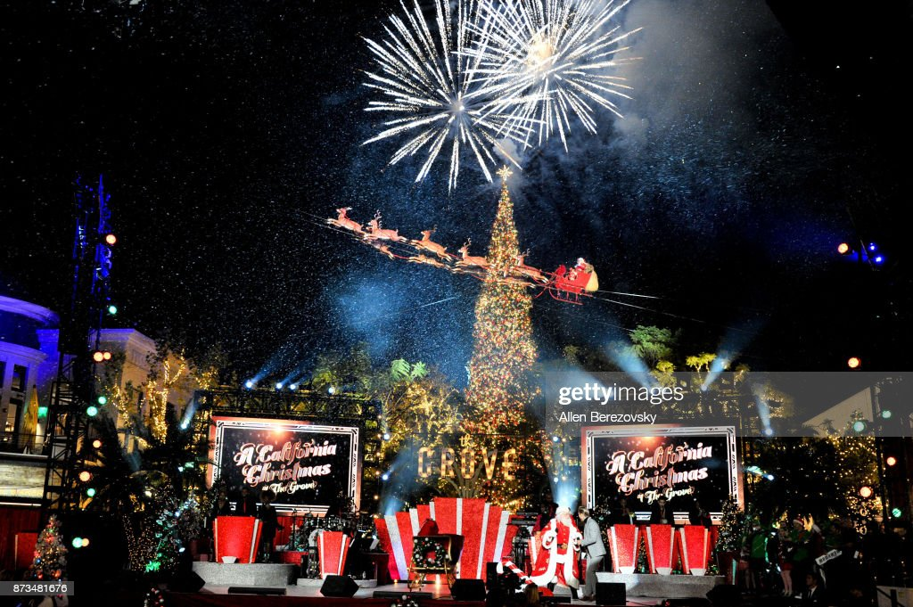 A general view of the atmosphere at A California Christmas at The Grove Presented by Citi on November 12, 2017 in Los Angeles, California.
