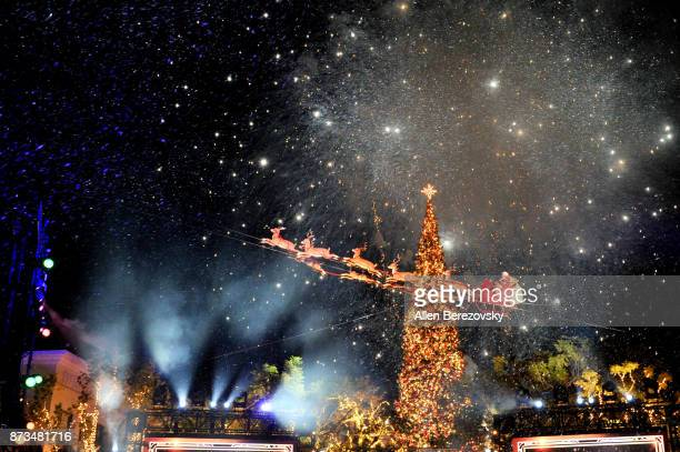 A general view of the atmosphere at A California Christmas at The Grove Presented by Citi on November 12 2017 in Los Angeles California