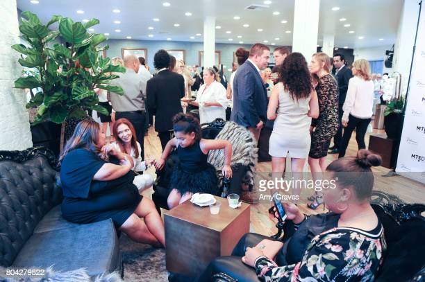 A general view of the Atmosphere at A Night Out a fundraising event benefiting #MoveToEndDV hosted by Beverly Hills plastic surgeon Dr Marc Mani at...