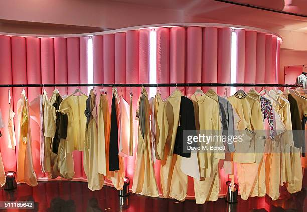 A general view of the atmosphere at a party hosted by Marks and Spencer The British Fashion Council and Alexa Chung to kick off London Fashion Week...
