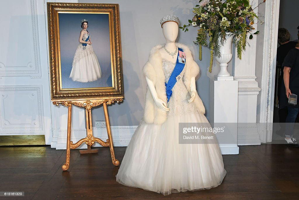 "Netflix Original Series ""The Crown"" Costume Presentation With Designer Michele Clapton : News Photo"