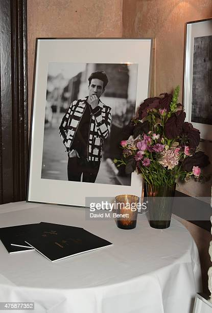 A general view of the atmosphere at a private dinner celebrating the launch of the Nick Grimshaw for TOPMAN collection at Odette's Primrose Hill on...