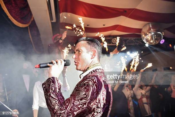 A general view of the atmosphere at Bunga Bunga Covent Garden's 1st birthday party on January 31 2018 in London England