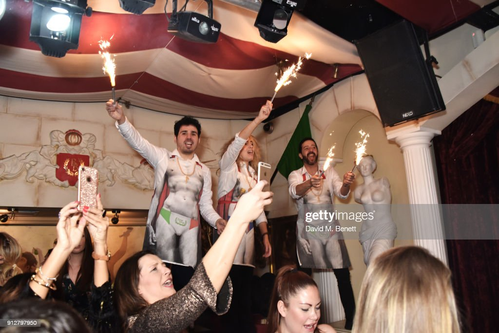 Bunga Bunga Covent Garden 1st Birthday Party : News Photo